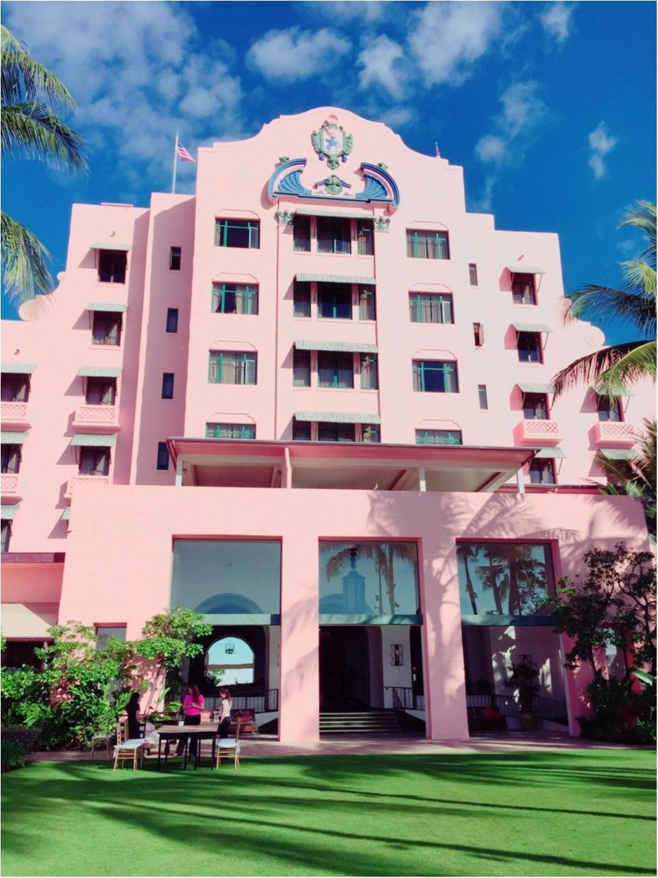 【TRIP】これ着て1日過ごしたい!ハワイで1番のお目立ちホテルはバスローブまで激可愛だった♡_1
