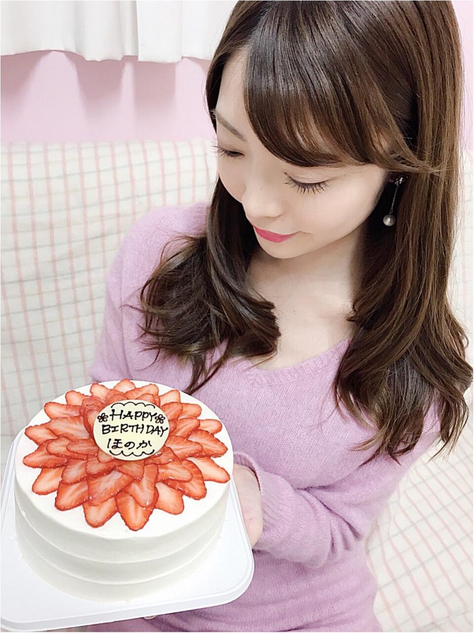 【BirthDayGirl♡】可愛いケーキと先取りお祝いしていただきました!!_3