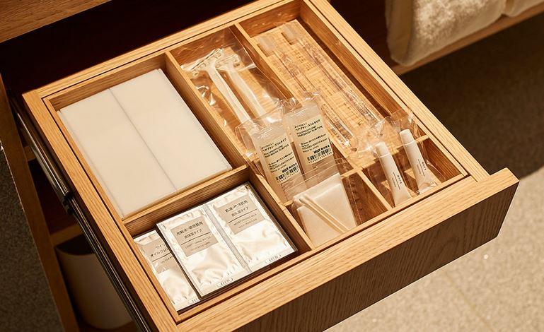 『MUJI HOTEL GINZA』の9タイプの客室、全部見せます♡ 家具からベッド、食器まで。無印良品の名品が使える試せる買える「無印良品 銀座」!_5