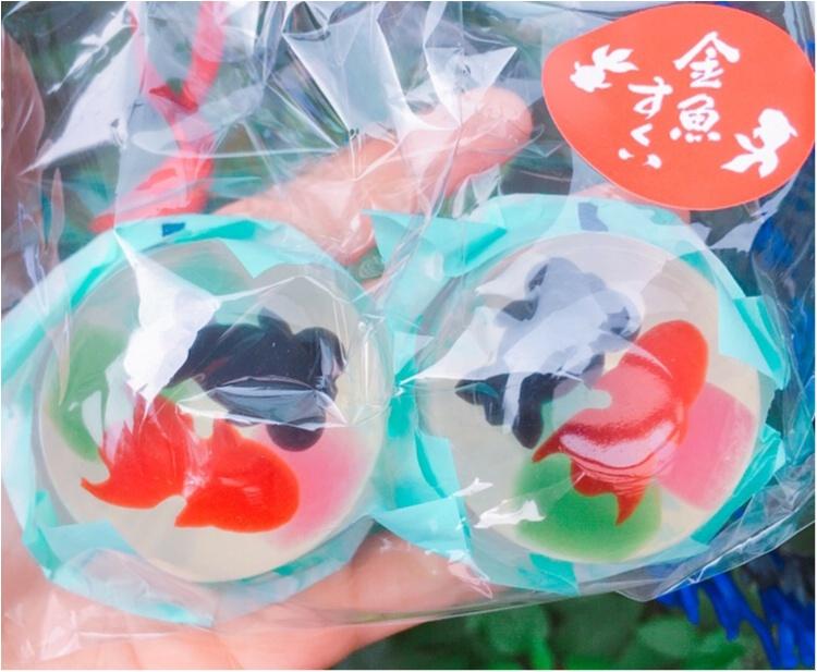 【フォトジェニックグルメ】本物の金魚?!『金魚すくい風ゼリー』が夏らしくてかわいい♡♡_5