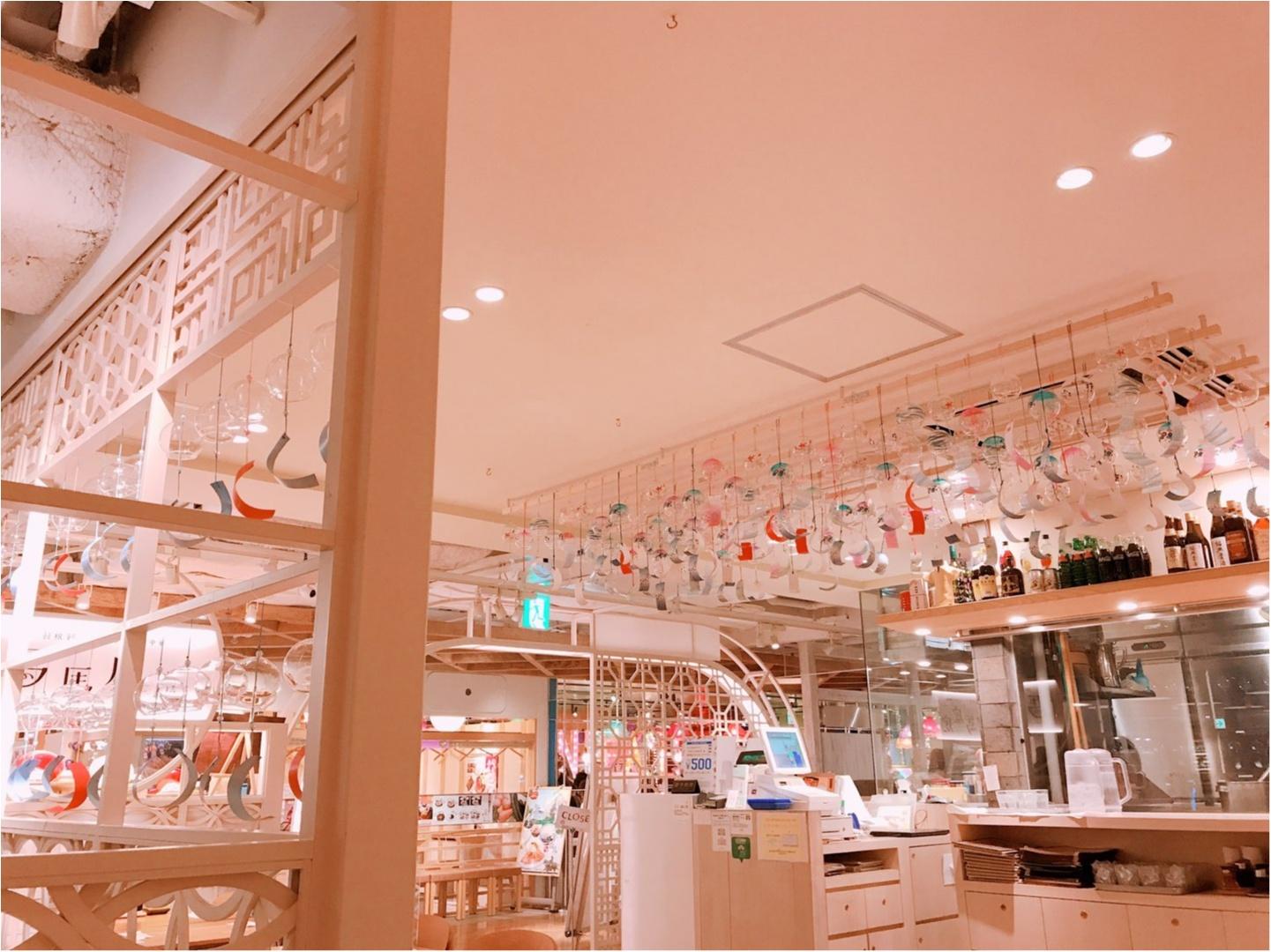 夏といえば餃子!!風鈴が沢山の可愛いお店で♡_2