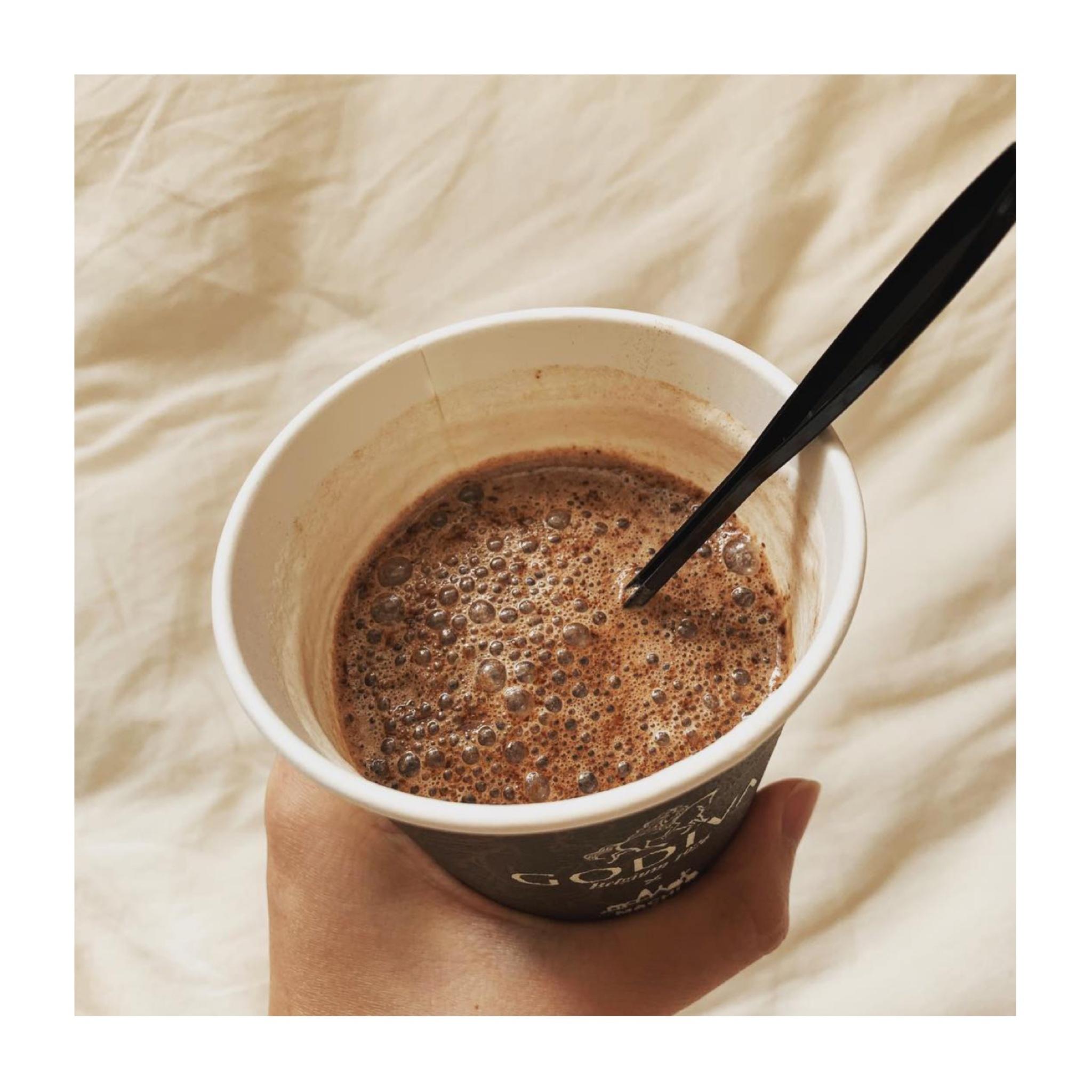 《発売前から話題沸騰❤️》【LAWSON × GODIVA】の本格ホットチョコレートが絶品すぎる!☺︎_4