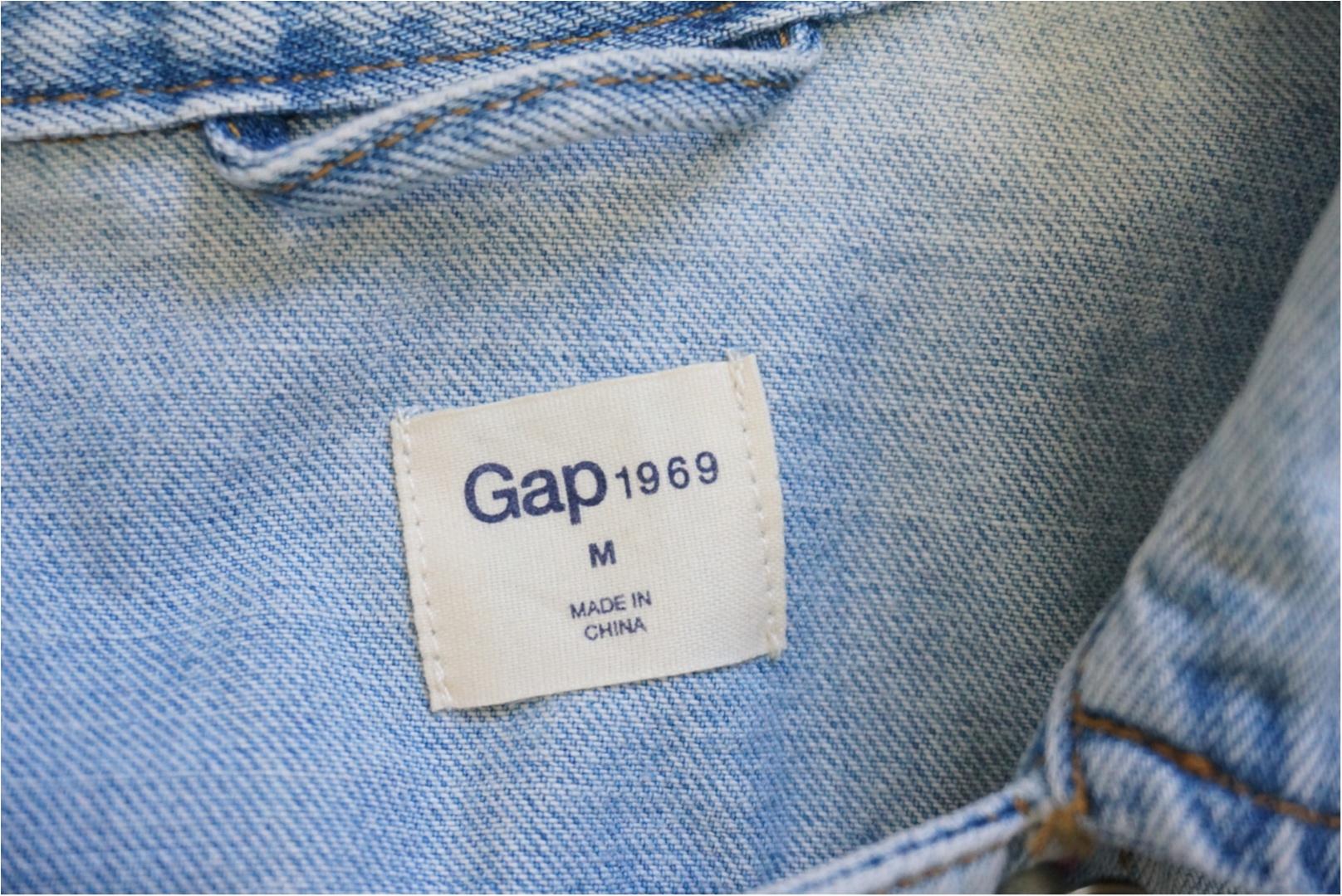 【GAP】がワンコイン⁈  アウトレットの閉店セールは掘り出し物の宝庫❤️_1