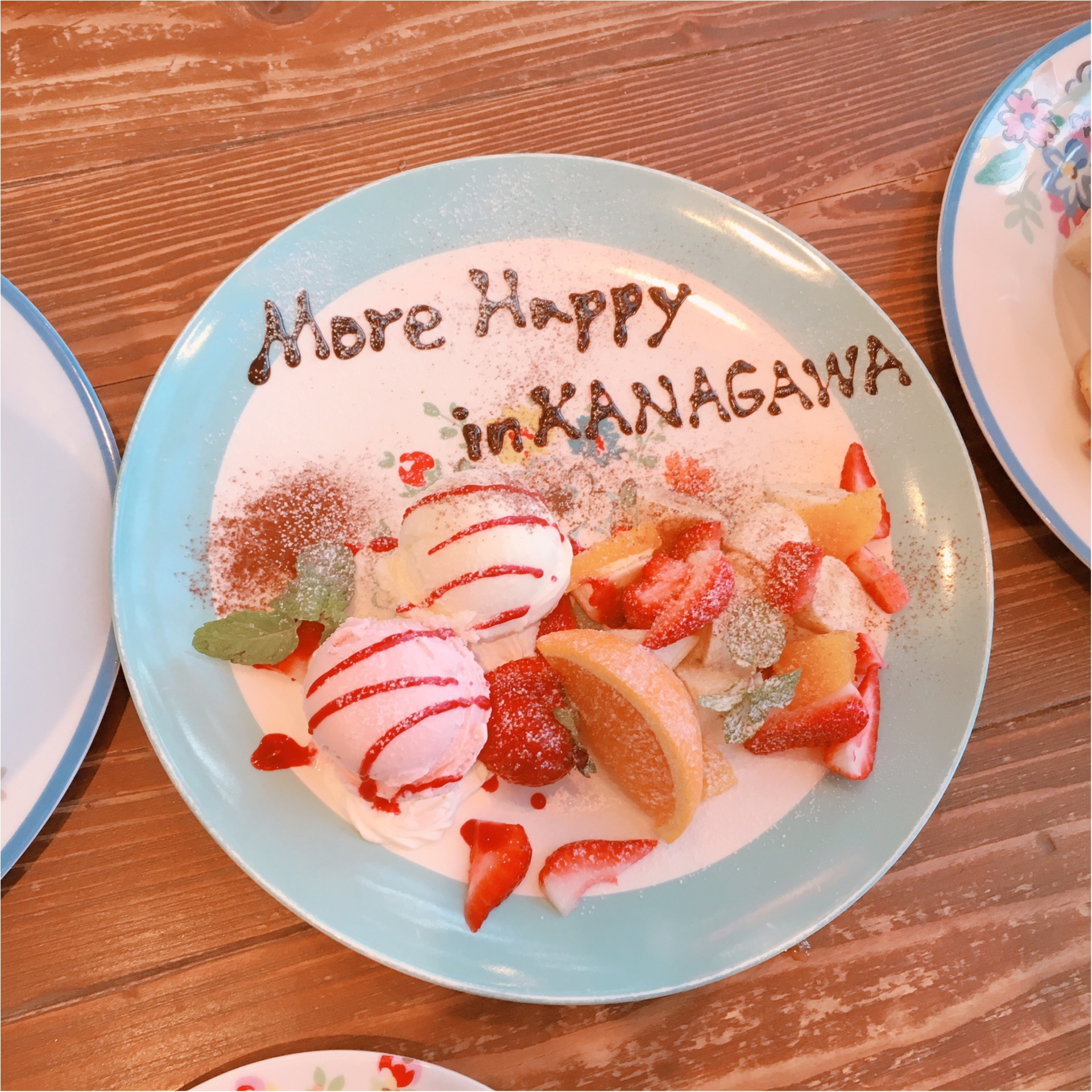 《ご当地モア❤︎神奈川》日本でココだけ【Cath Kidston(キャスキッドソン)】かわいいカフェでアフタヌーンティー*°_5