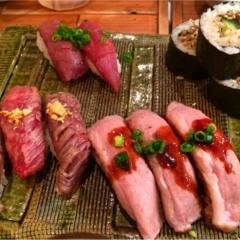 お肉好きなら必見!!恵比寿横丁の肉寿司へ行ってきました♡