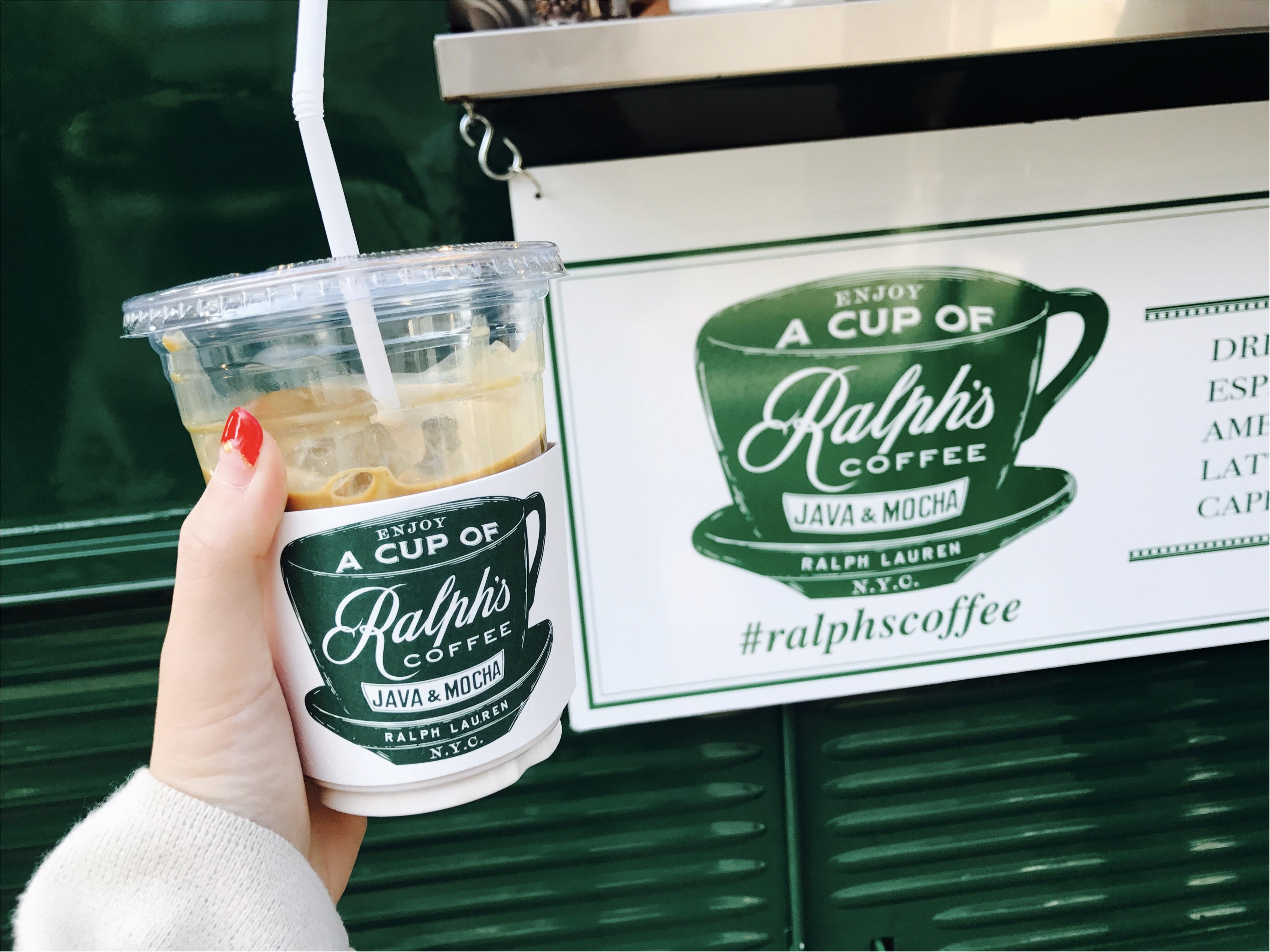 【表参道カフェ】ラルフローレンの移動カフェ《Ralph's COFFEE》が日本に★_4