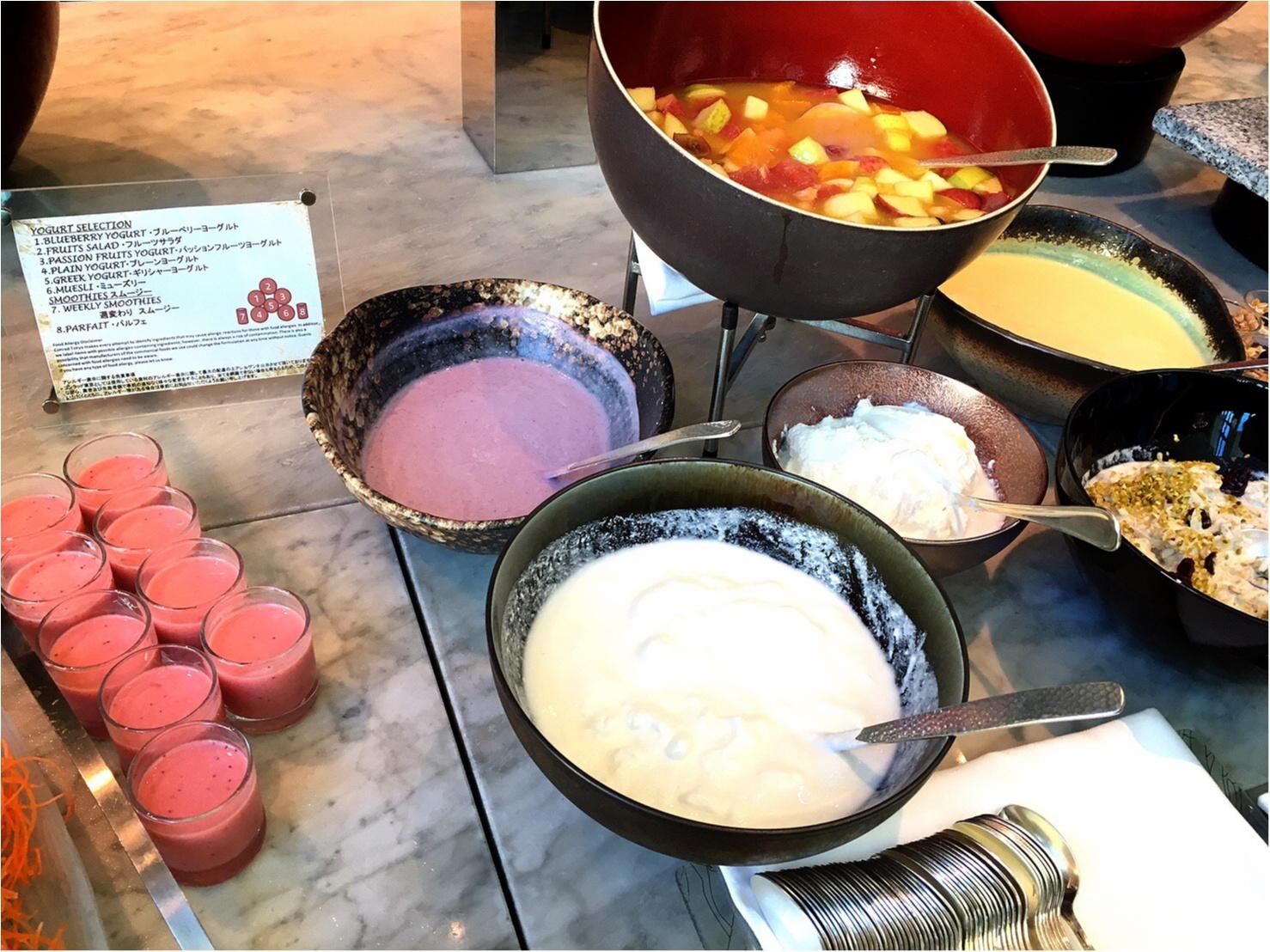 平日お休みをとっていこう!コンラッド東京の朝食ビュッフェが最高。4347円→3500円で♡_11