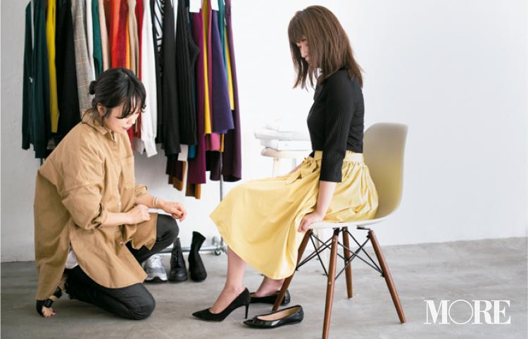 【読者変身】無難、甘すぎ、いつも同じ……きれい色スカートのお悩み、スタイリスト高野さんが解決します☆_2_3