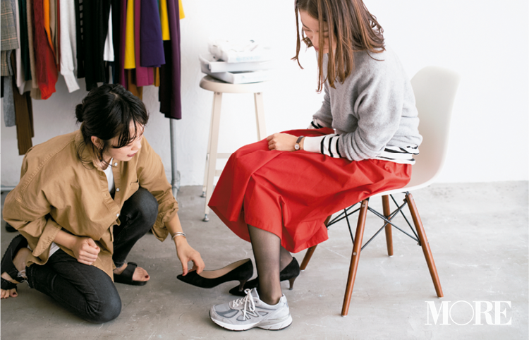 【読者変身】無難、甘すぎ、いつも同じ……きれい色スカートのお悩み、スタイリスト高野さんが解決します☆_5_4