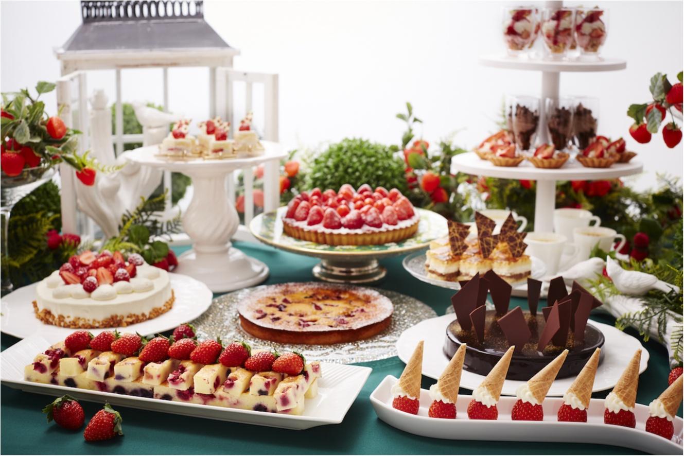 ストロベリー×チョコレート最強説♡ 『京王プラザホテル』のストロベリーフェアで夢の時間を!_1
