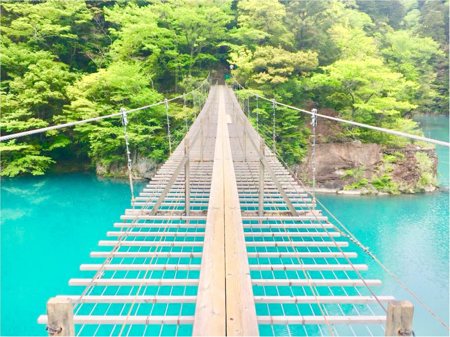 【静岡】涼しさを感じに《夢の吊り橋》へGooooo!_1