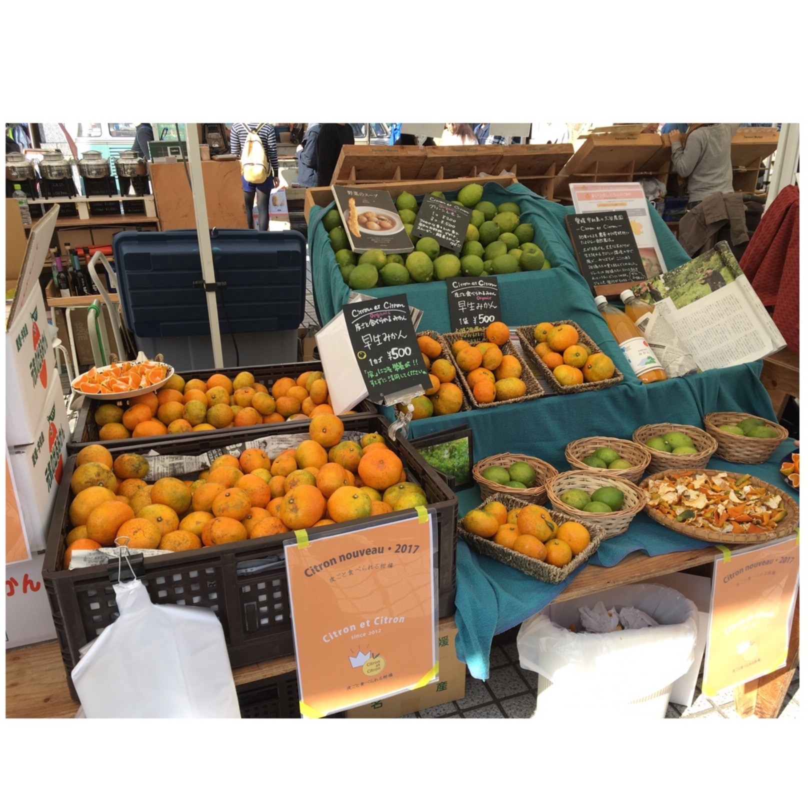 【料理▶レシピ有り】青山ファーマーズマーケットで見つけたフルーツで簡単ジャム作り☺_1