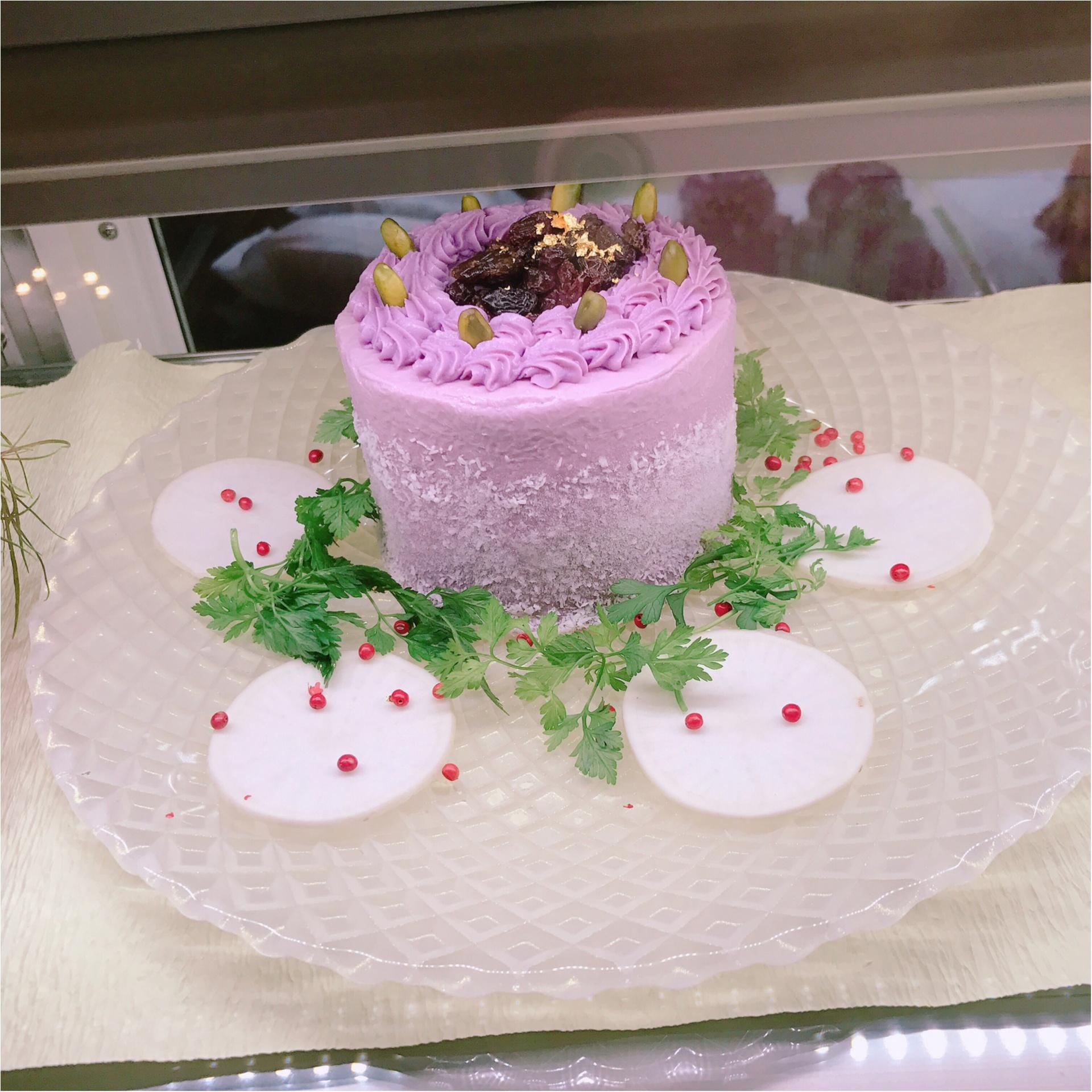 ★甘くないケーキ?!フォトジェニック&とーってもヘルシーな『ベジデコサラダ 』★_5