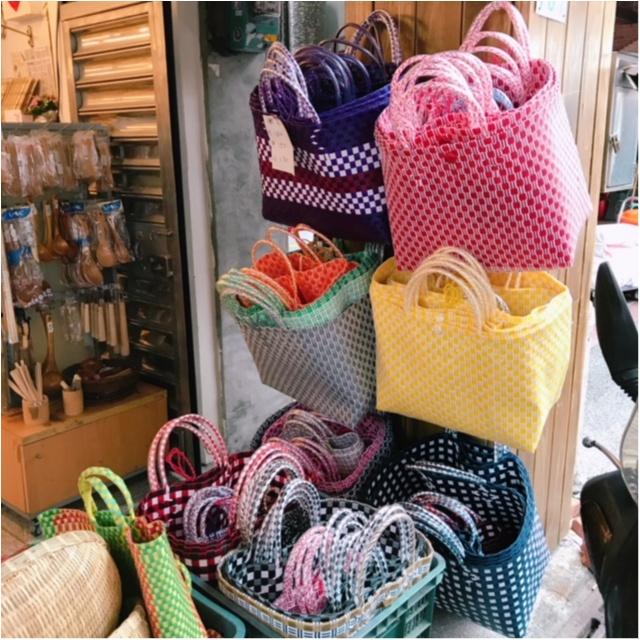 プチプラなのにとってもかわいい! 台北の「かごバッグ」をご紹介☆_2