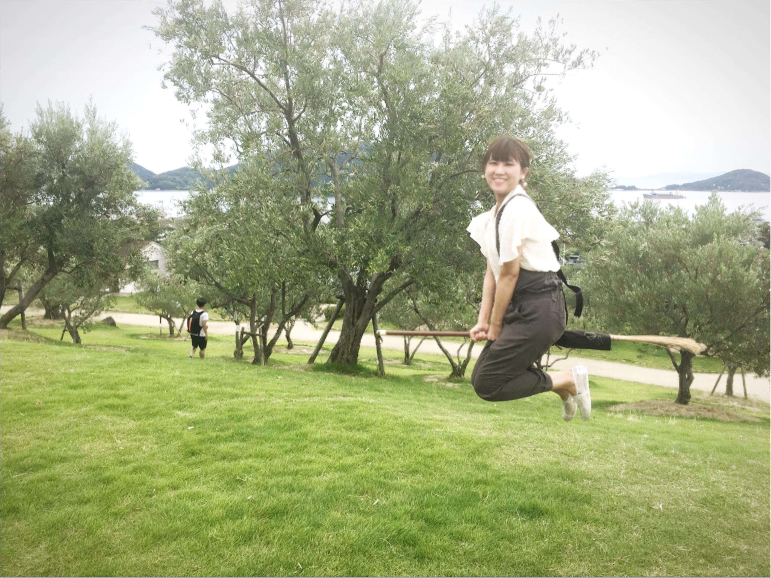 小豆島の大自然をほうきで遊飛行♪魔女っ子になろう♡_3