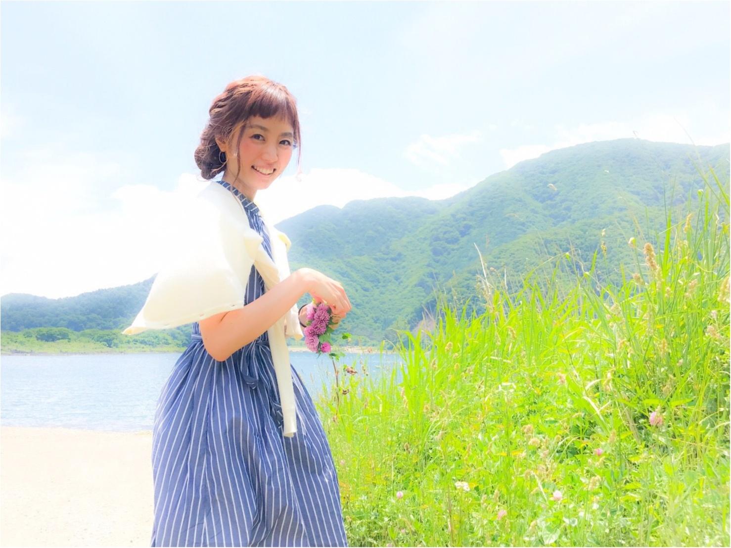 2017夏のトレンド☆ストライプ柄☆Flower Daysのストライプ柄のワンピースがかわいい♡_1
