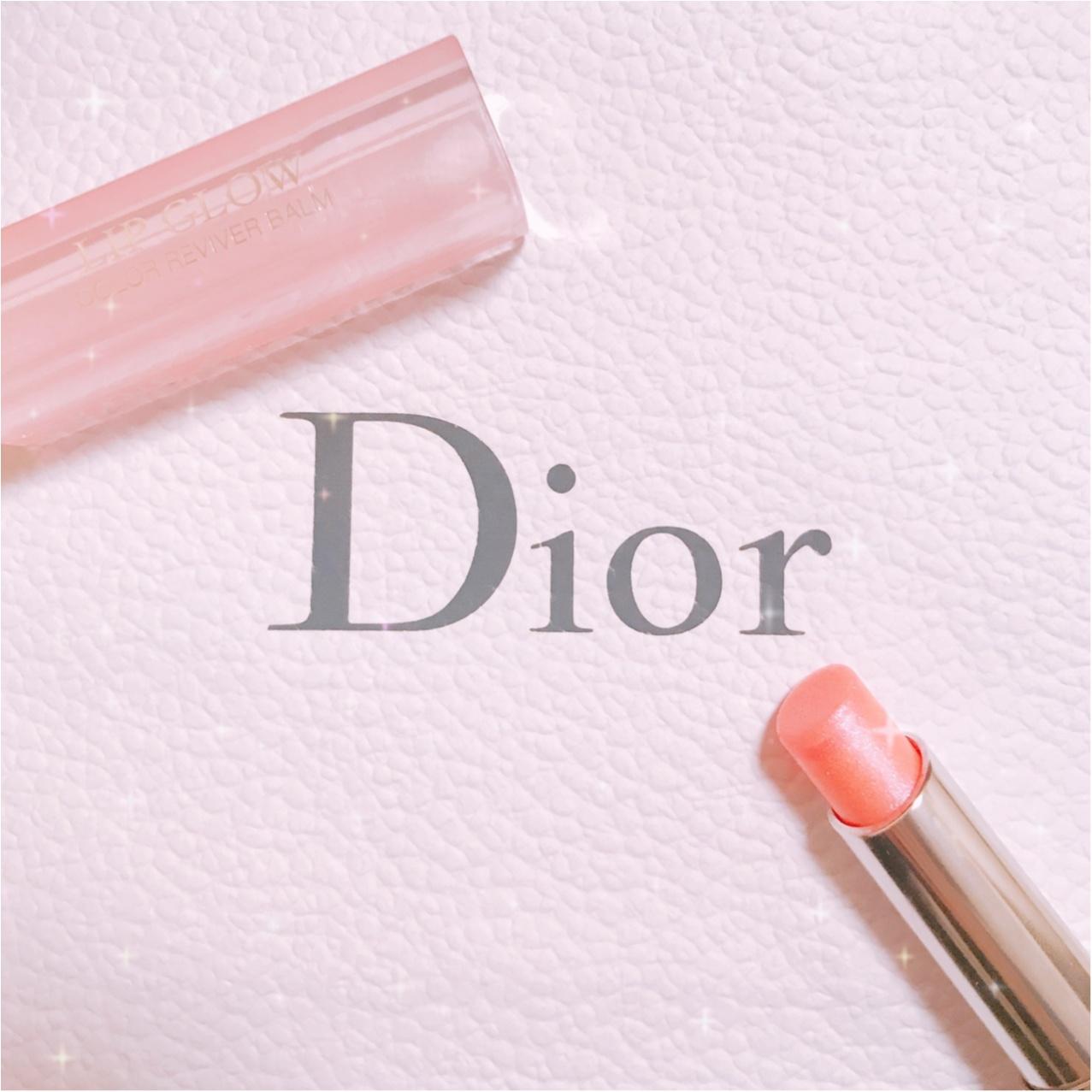 キラキラのくちびるに…♡【Dior(ディオール)】アディクトリップグロウ《ホロピンク》がかわいすぎるっ!!_2