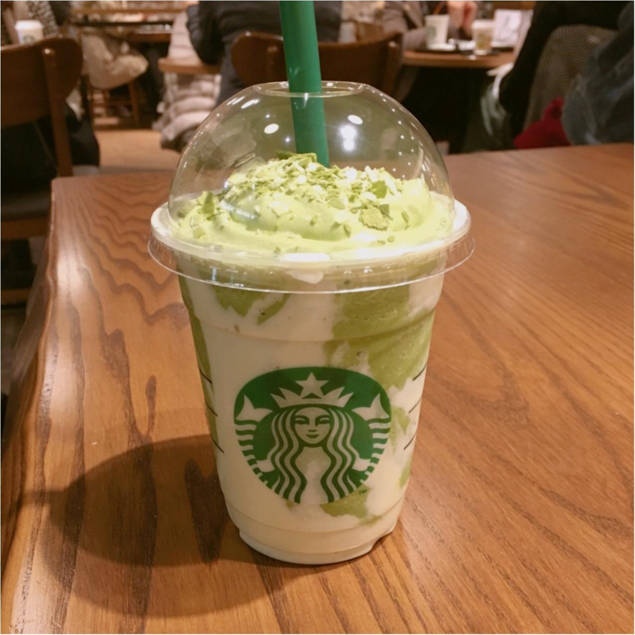 【STAR BUCKS】 クリーミーで美味しい♪ 抹茶&フルーティマスカルポーネフラペチーノ》が発売中です♡♡_2