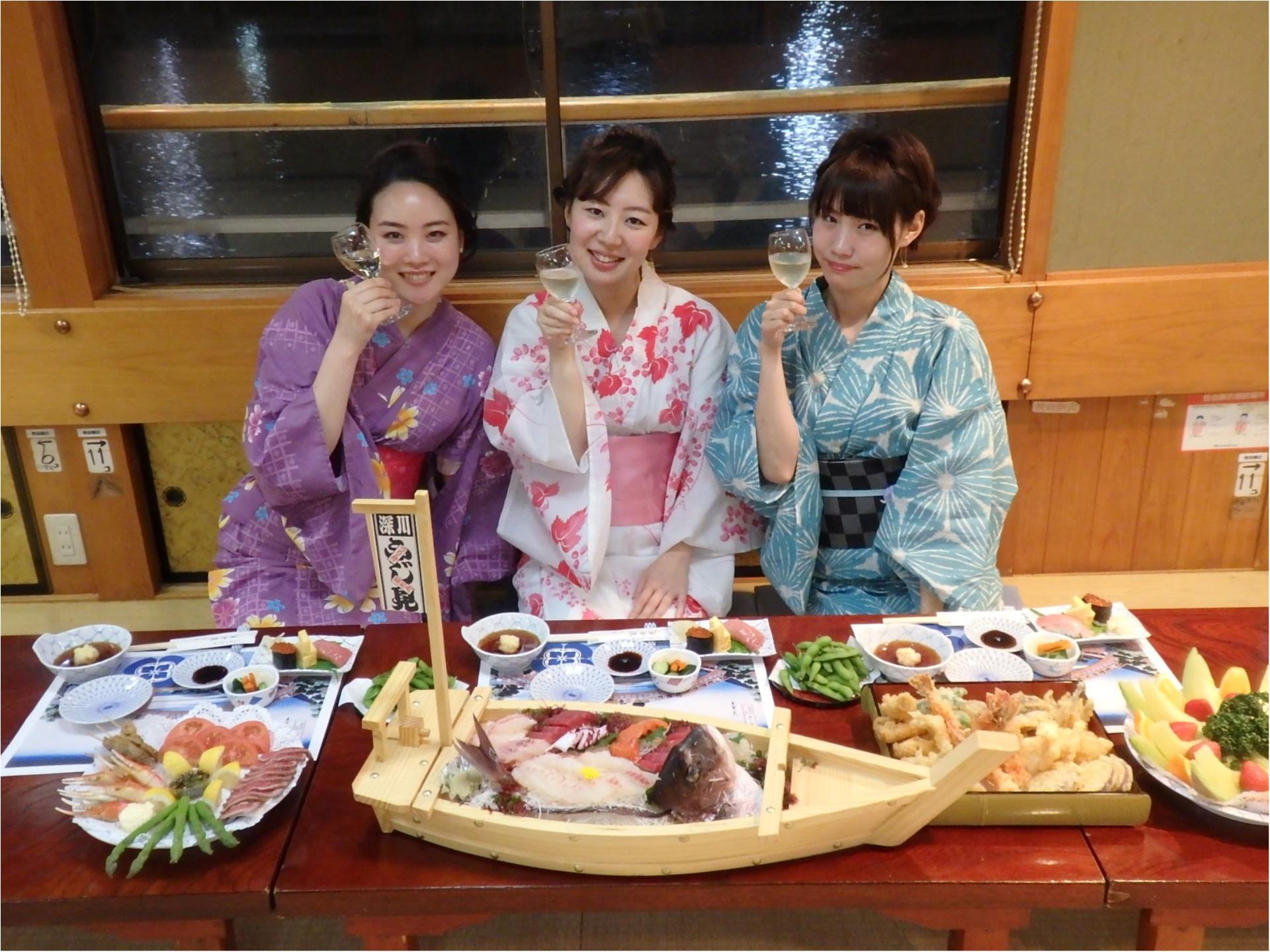 ゆかた屋形船女子会♡MORE8月号掲載『トレンドプレゼン大会』裏側レポ♡_8