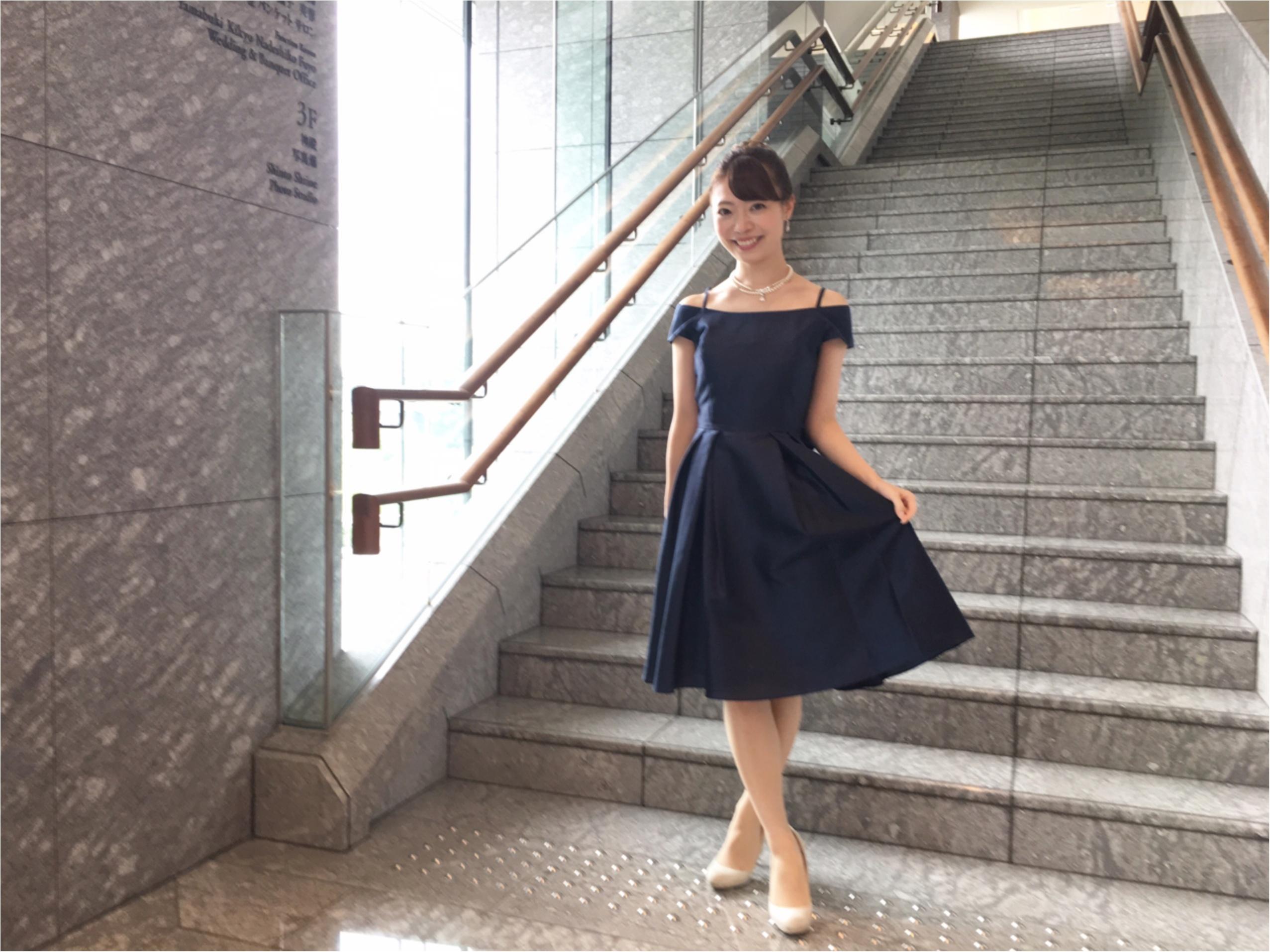 """集英社MOREインフルエンサー7名の""""お呼ばれドレス""""SNAP❤︎_2"""
