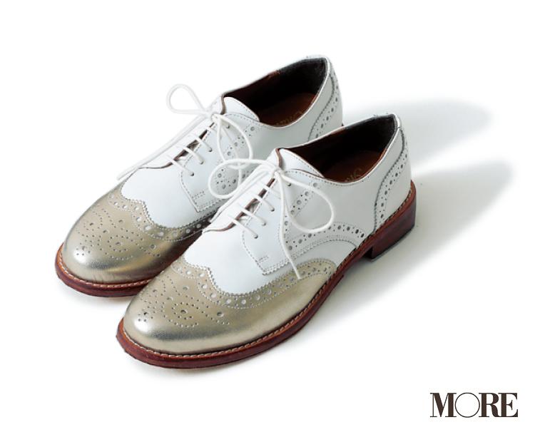 いつもの足もと、ちょっと変えるならメタリックなおじ靴が可愛い! _2_2