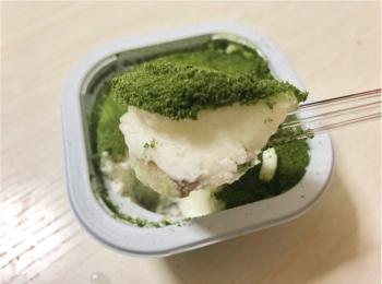 今年も登場!【セブンイレブン】『4層仕立ての抹茶ティラミス氷』はこれがかき氷?なふわふわ食感がたまらない!!