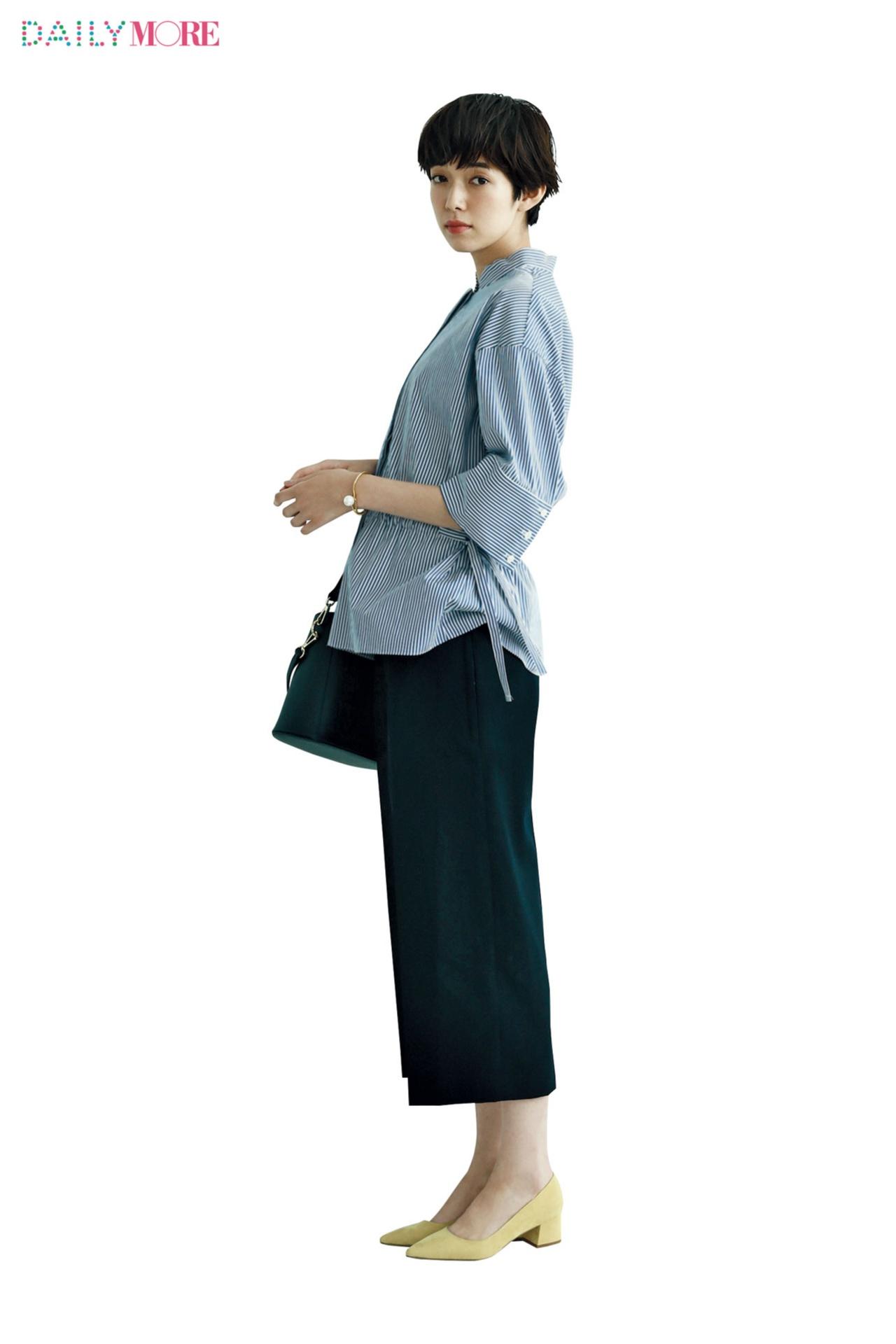 はくだけで会社へ向かう気分がアガる靴! 【ヒールの高さ別】チャンキーヒール靴に似合うパンツはコ・レ・だっ!!_1_2