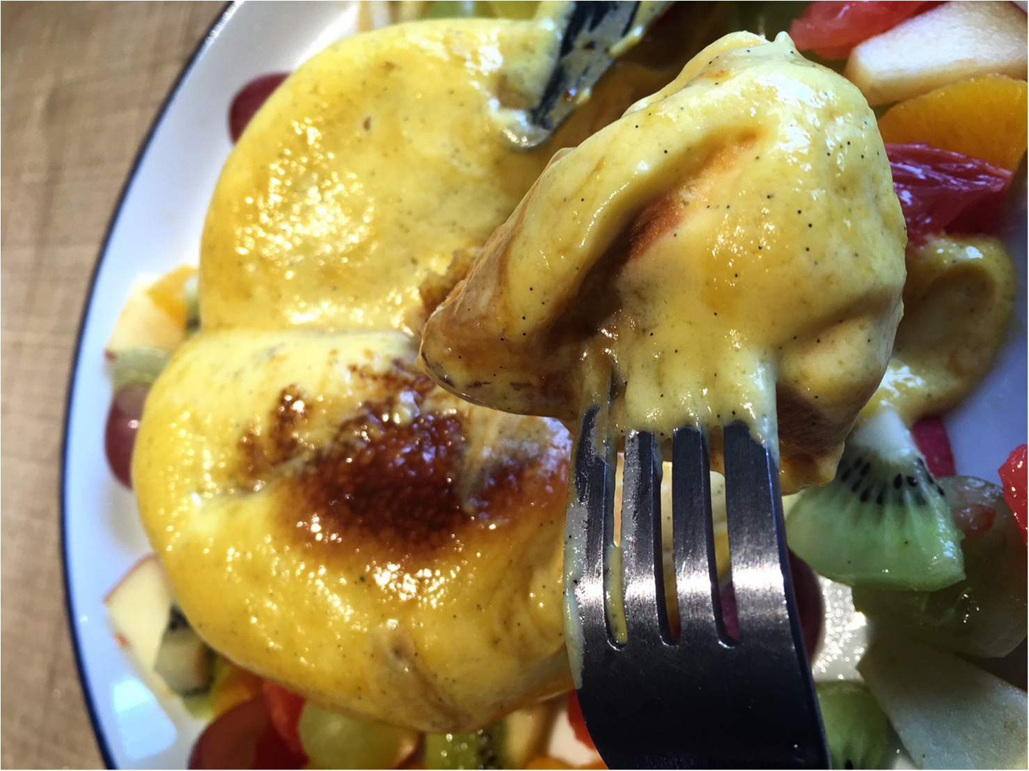 【武蔵小杉】とろぉ〜ふわぁ〜。雑誌で見かけて食べたかったクリームブリュレパンケーキ!_5