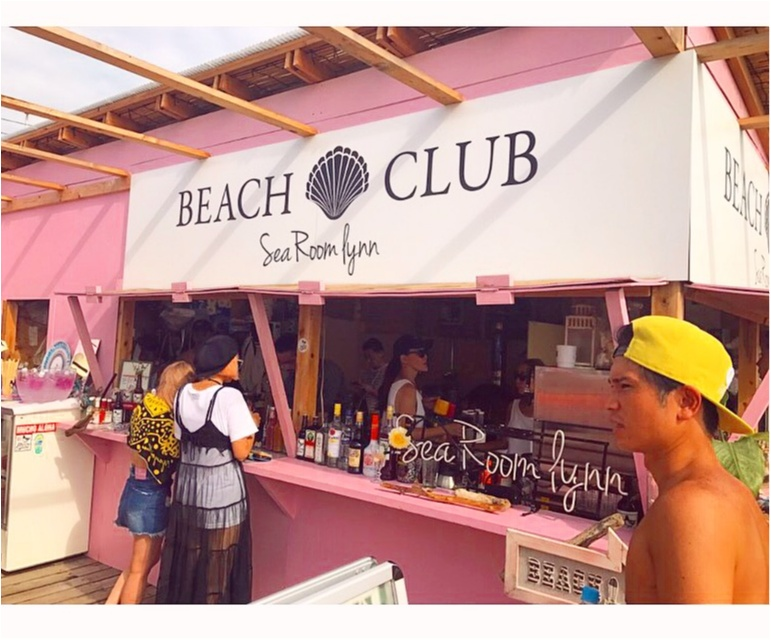 【BEACH】可愛すぎる海の家♡⚓︎Sea Room lynn Beach Club × Namiaru?_2