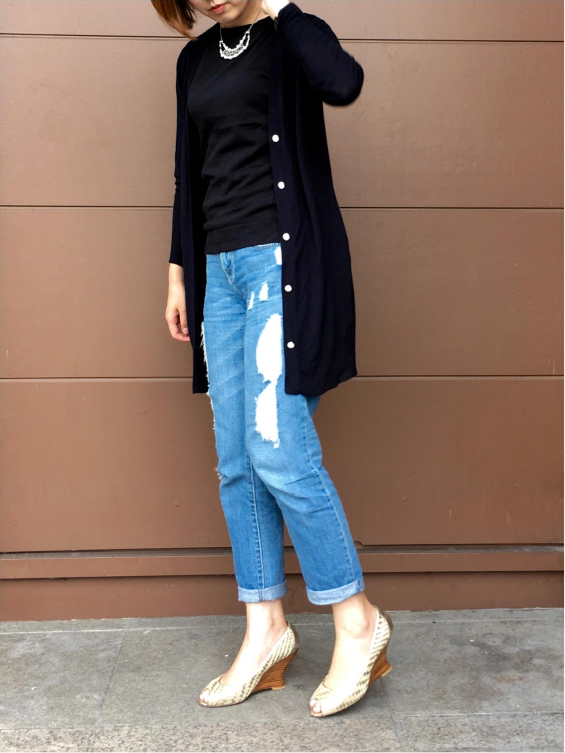 ◆◇紫外線&冷え対策◇◆MORE掲載!オリジナルブランド FlowerDaysのロングカーデを着てみました♪_2