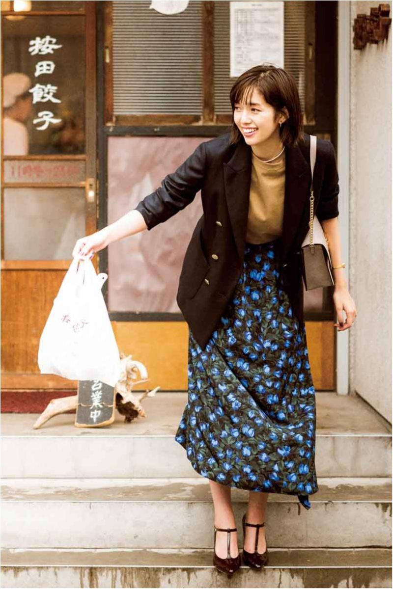 20代女子が老けずに大人っぽく見えるジャケットスタイル