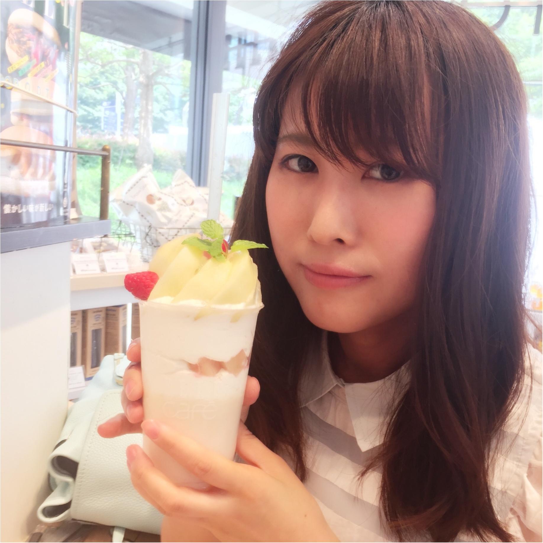 ELLEcafe(エルカフェ)期間限定「桃」ボンボンスムージーは見逃せない!並ばない店舗情報♡_4