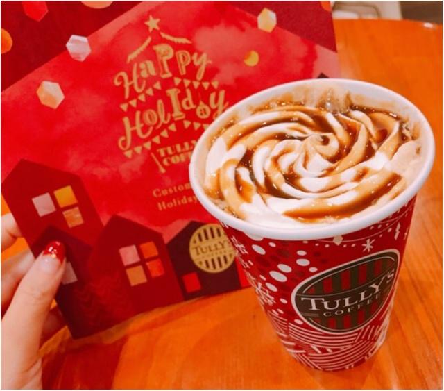【TULLY'S】ホリデーシーズンドリンク第1弾★タリーズの冬ドリンクはコレに決まり!!_6