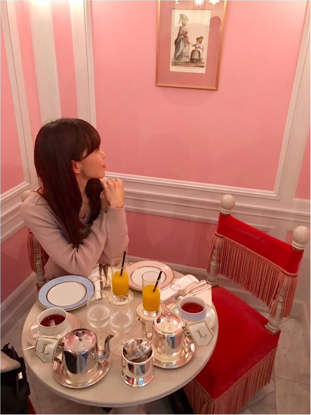 【FOOD】ほんとうは教えたくない!! 銀座LADURÉEの最強かわいいピンクの小部屋♡_3