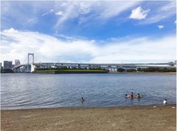 都内で気軽に海が楽しめる!?夏休みは【#おだいばビーチ】へレッツゴー♪