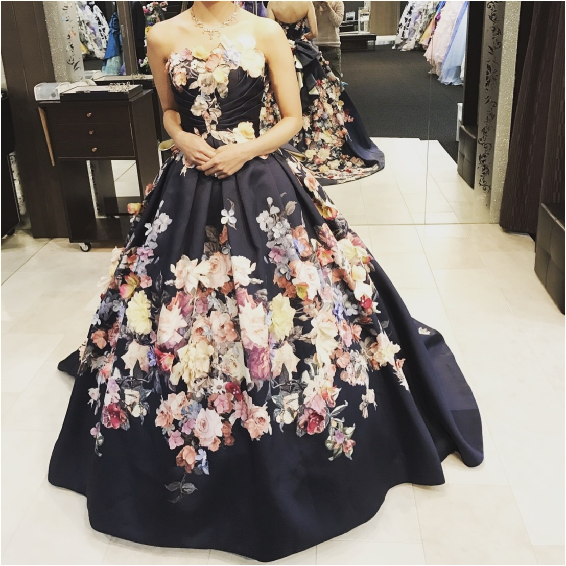 憧れの桂由美さんのドレス試着しました♡_1