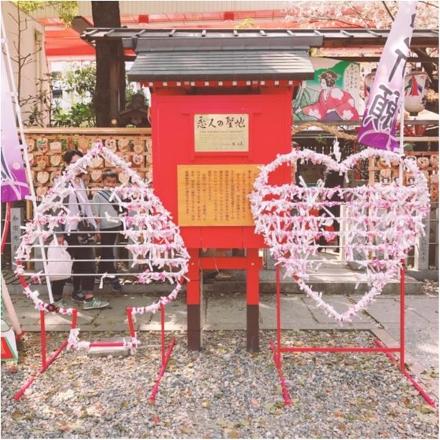【大阪パワースポット巡り】桜のキレイな露天神社で春に向けて良縁祈願を♡_3
