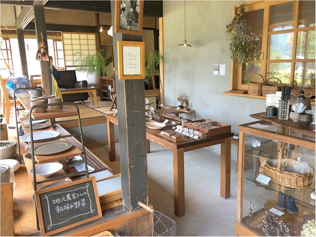 素材の味が味わえる♡ 古民家を改装したオシャレな焼き菓子屋さん♡♡_2