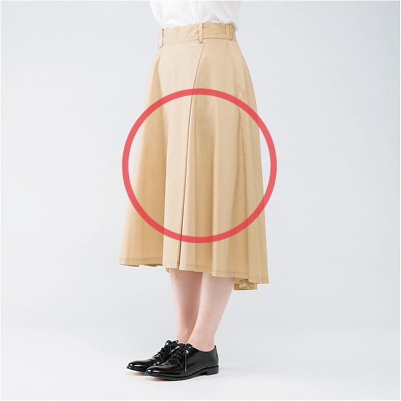 徹底検証!【スカート×フラット靴】のOKバランス・NGバランス_2_5