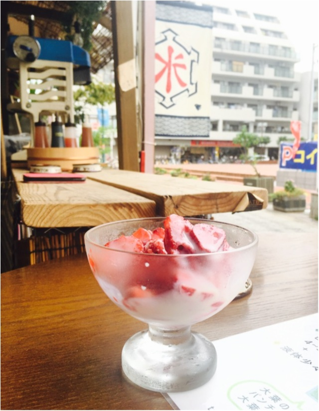 【スイーツ】いちごをまるごと削っちゃった!綱島に行ったら食べたいFood特選_9