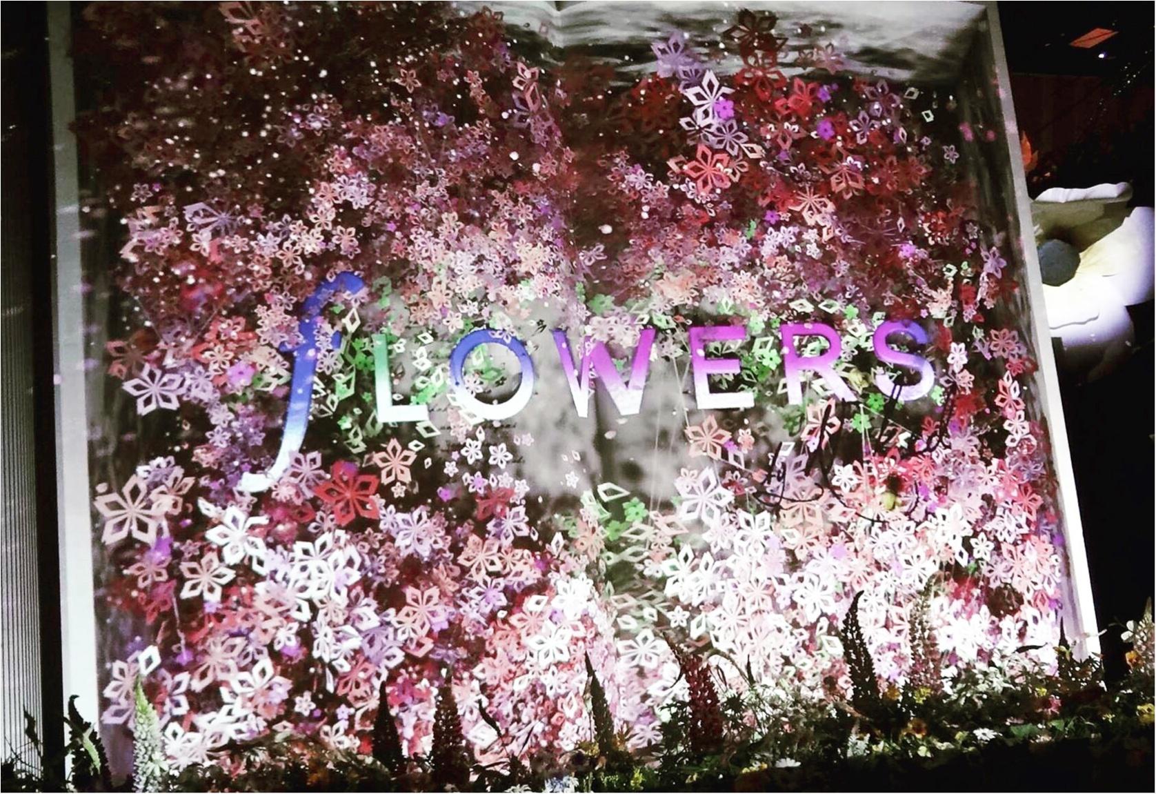今年も開催中!通算15万人動員の日本一早いお花見イベント「 FLOWERS by NAKED 2017 ー立春ー」@日本橋≪samenyan≫_1