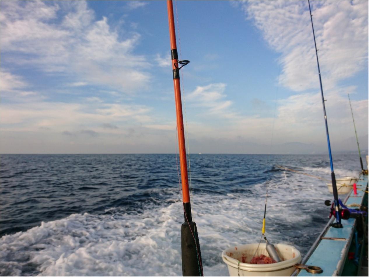"""【おでかけ】自分で釣ったら、美味しさも倍増♪ 大海原に囲まれて、""""海釣り"""" に挑戦してきました!_2"""
