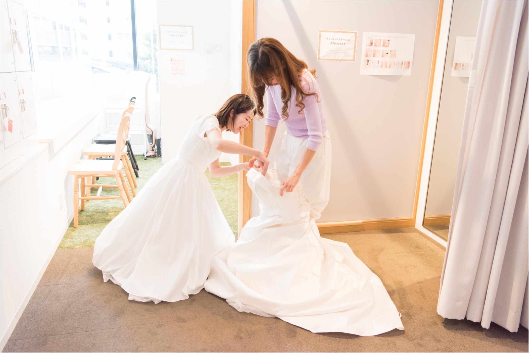 """女子の""""ウェディングドレスを着たい!""""願望を無料で叶えてくれる『and photo』が最幸すぎ♡ _8"""