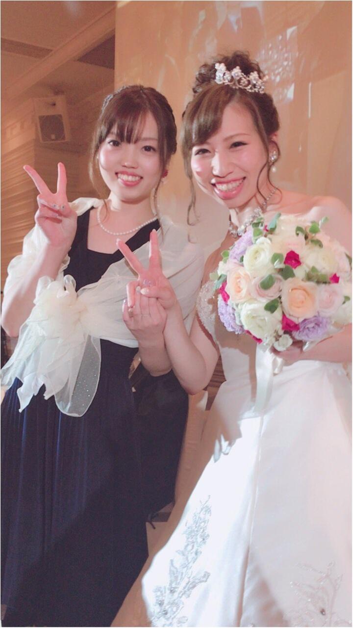 《Happy wedding》around25お呼ばれコーデは華やかにカラードレスにハーフアップで♡式に華を添えましょう!_9