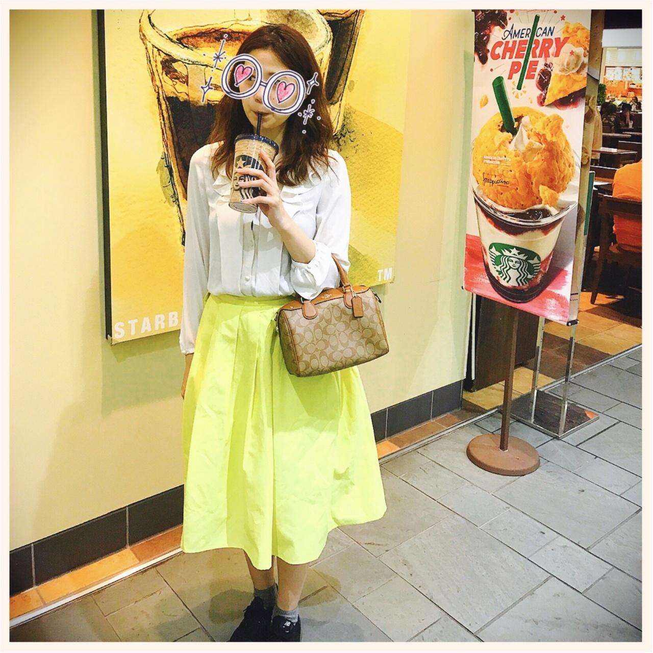 guのカラースカートでトレンドも着痩せも叶えるプチプラコーディネート♡_5