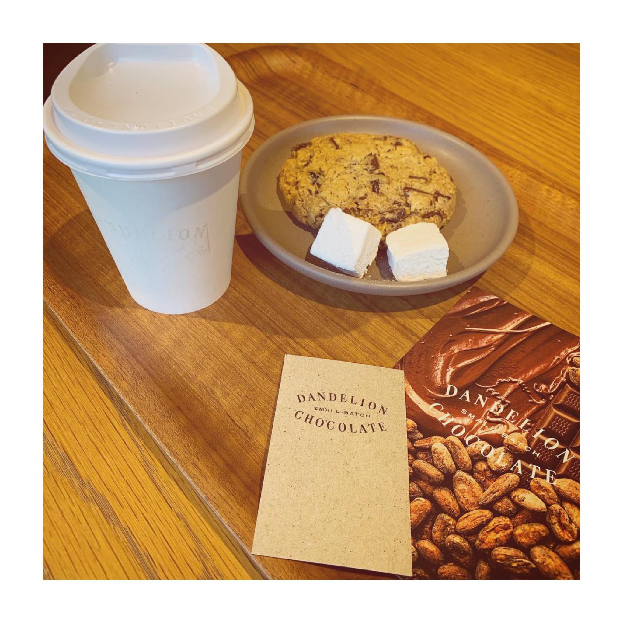 #20【#cafestagram】❤️:《東京•蔵前》都内で美味しいホットチョコレートを飲むならココ☝︎❤︎『DANDELION CHOCOLATE』☻_2