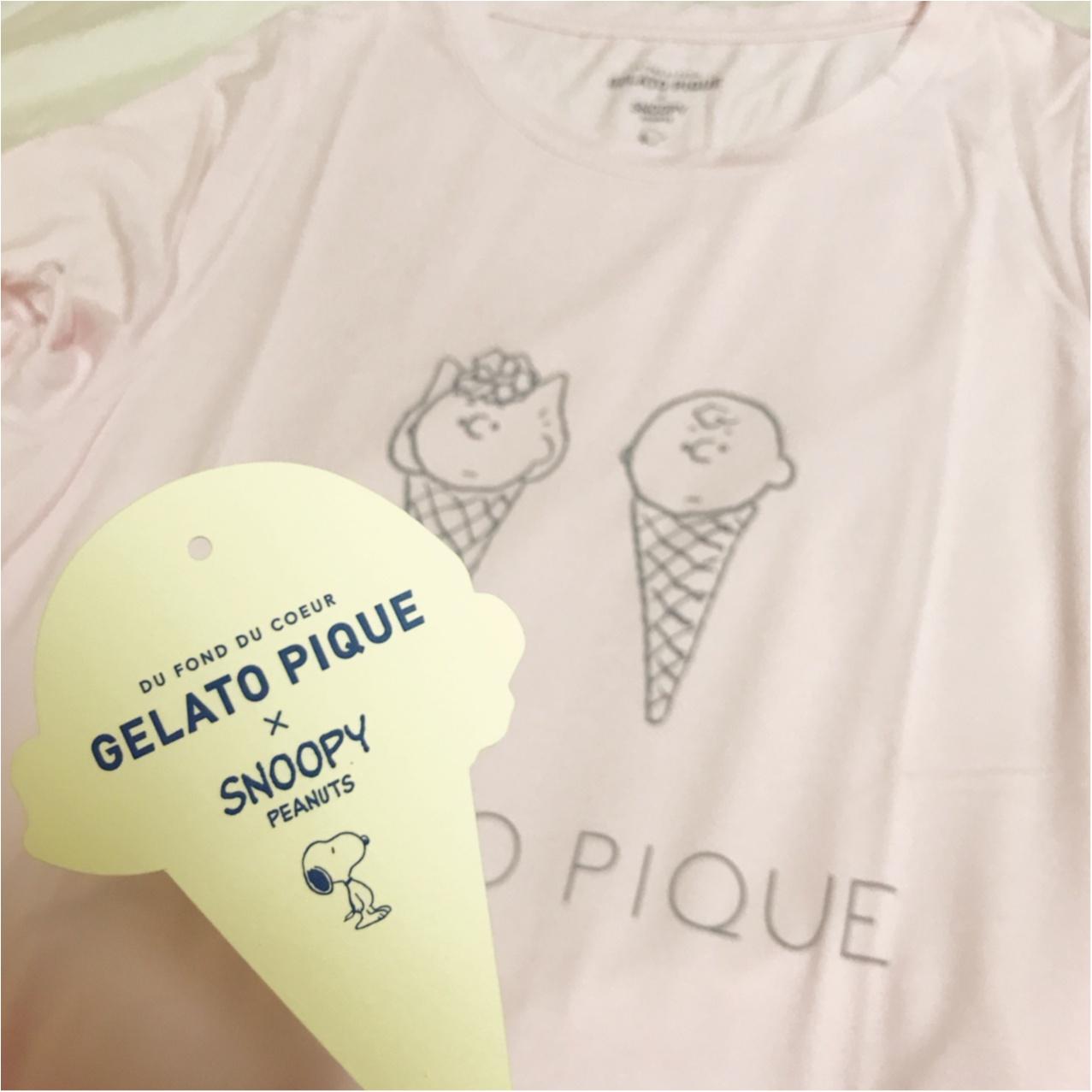 シュールかわいい!?【gelato pique × SNOOPY】のコラボルームウエア♡_2