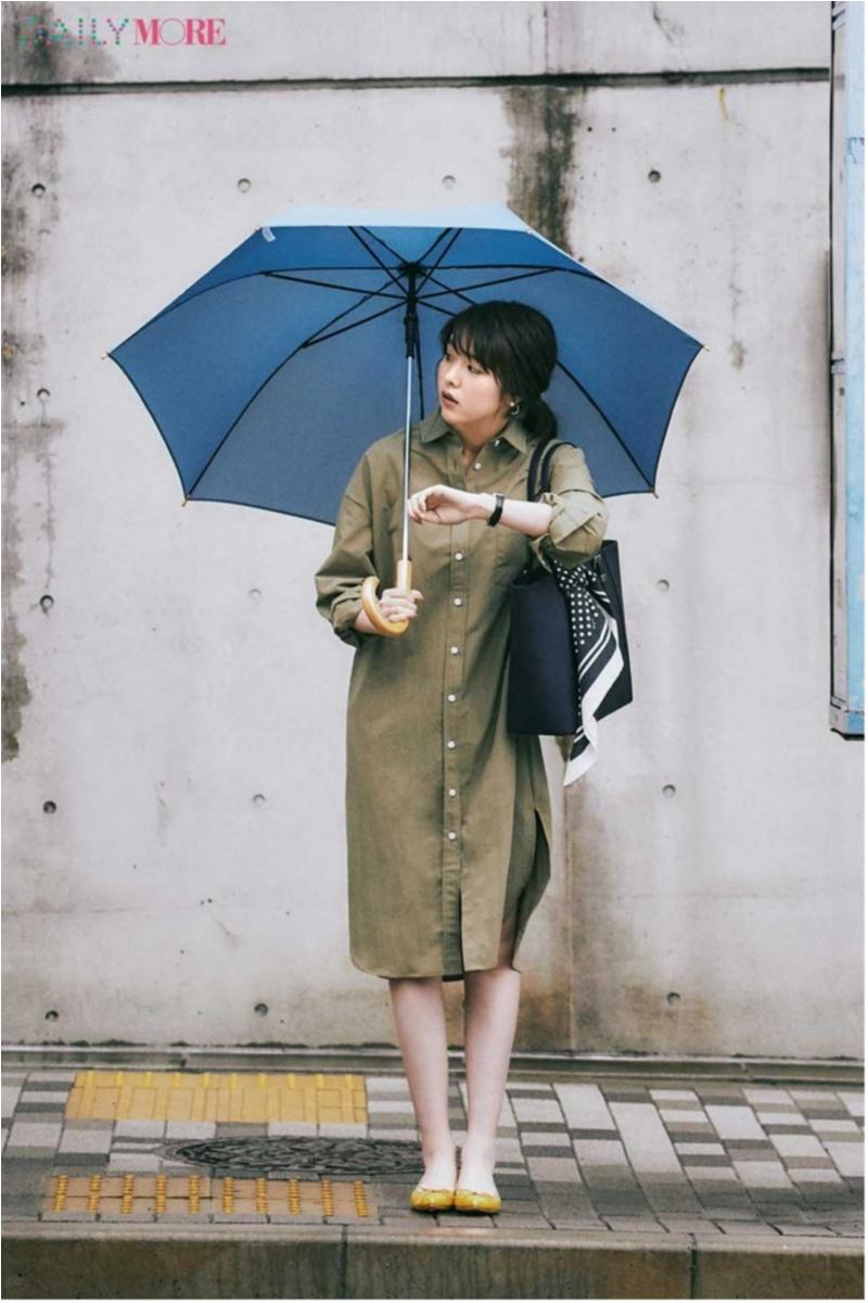雨の日のお出かけは何着る?靴は?「雨の日コーデ」まとめ_2