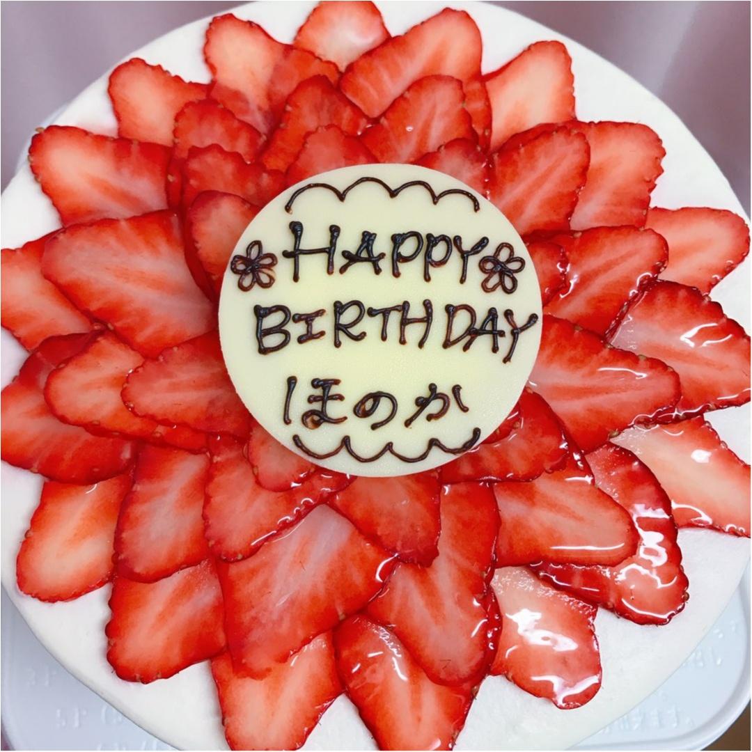 【BirthDayGirl♡】可愛いケーキと先取りお祝いしていただきました!!_2