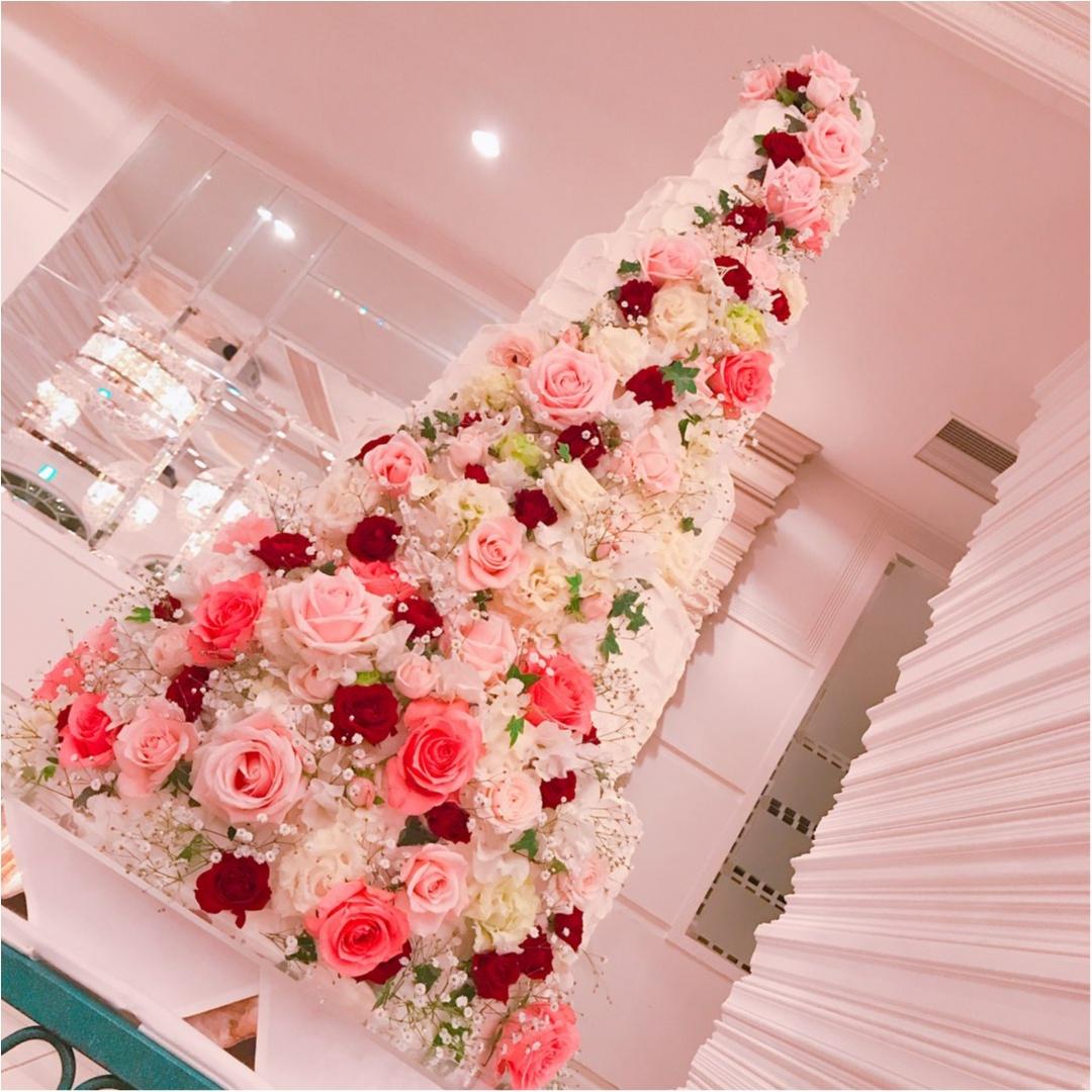 《Happy wedding》around25お呼ばれコーデは華やかにカラードレスにハーフアップで♡式に華を添えましょう!_7